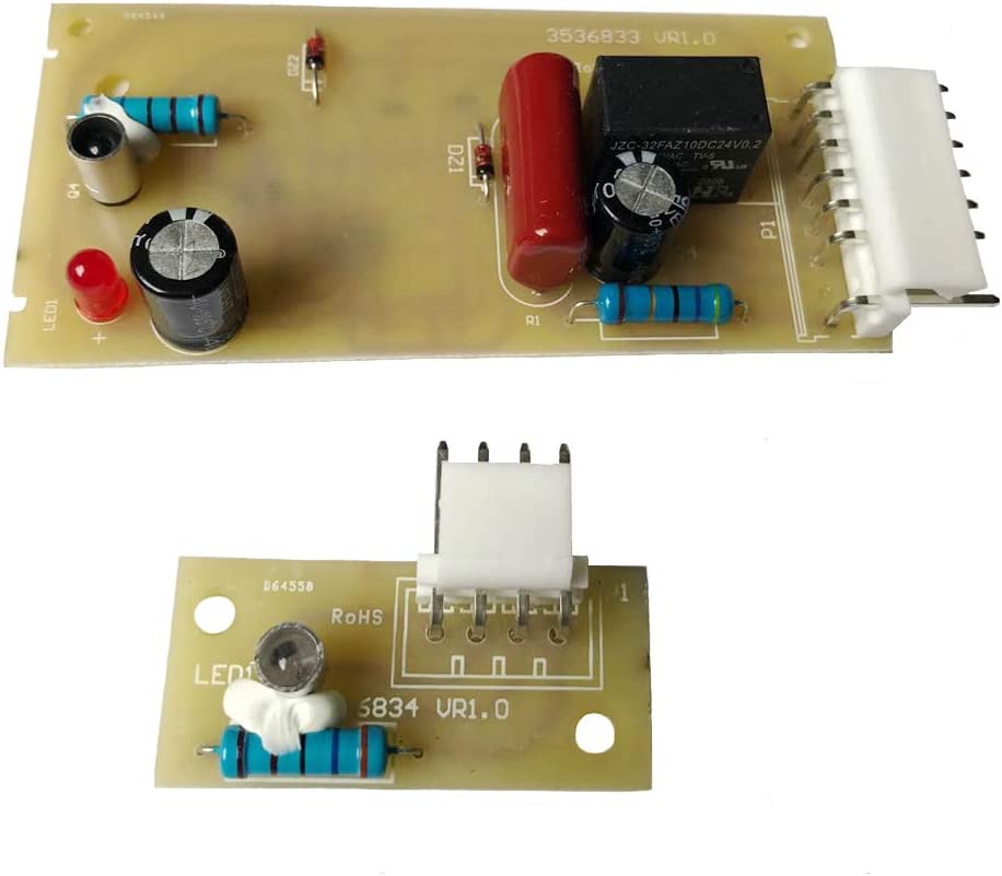 4389102 Refrigerator Control Board for Whirlpool Kenmore KitchenAid Maytag Jenn Air Replaces 2198586 W10757851 W10193840 AP5956767 AP3137510 PS557945