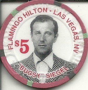 $5 flamingo hilton bugsy siegel rare las vegas casino chip - Flamingo Las Vegas