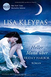 Heller Mond über Friday Harbor