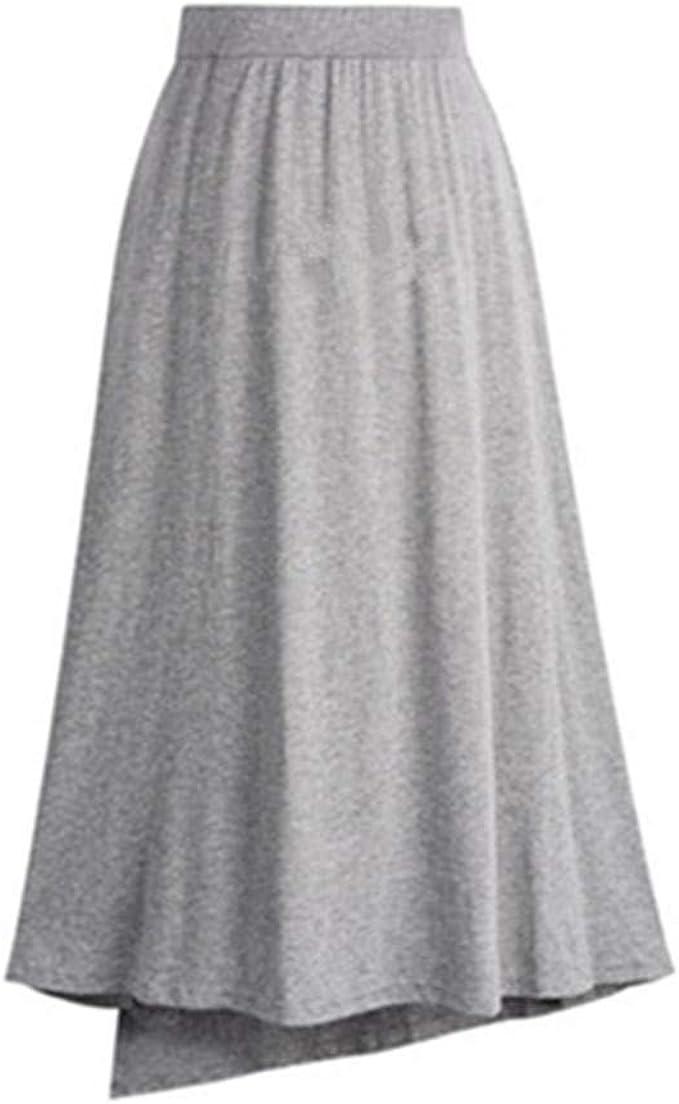 Geilisungren Faldas Mujer Largas Falda Maxi de Mujer Verano ...