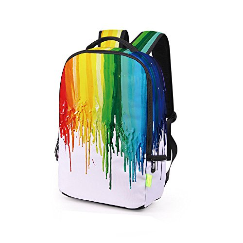 Satchel Bag A Men Student Shoulder Rucksack Galaxy Daypack School Women 3d Multicolour Casual Backpack Homebaby Travel Bookbag w1xnXUpPaq
