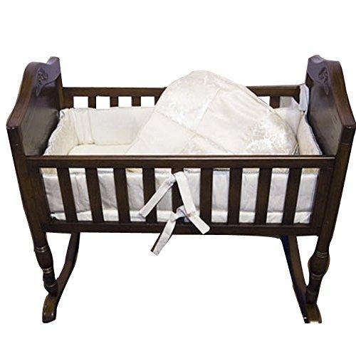 Babykidsbargains Gold Brocade Cradle Bedding Set, 18'' x 36'' by Baby Doll