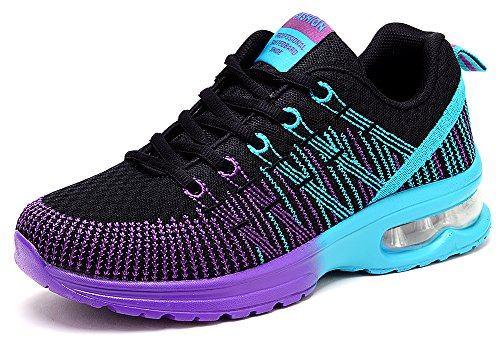 Odema Women's Summer Breathable Fitness Air Cushion Running Shoes Gym Walking (Womens Gym Shoes)