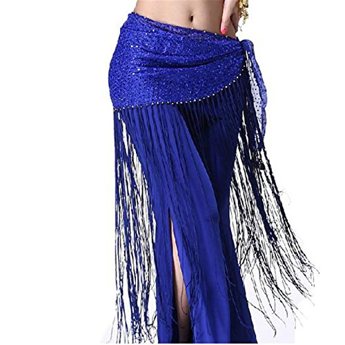 Belly Dance Hip Scarf Skirt Tassels Fringe Belly Dance Costume Belly Dancing