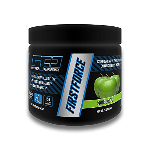 FIRSTFORCE Pre-Workout Formula - Sour Apple, 40 Servings by NEOFORCE PERFORMANCE