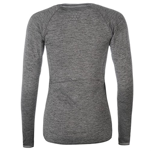 cde8710897d183 Karrimor Womens Xlite Running Top Ladies Lightweight Long Sleeve V Neck  Tee  Amazon.co.uk  Clothing