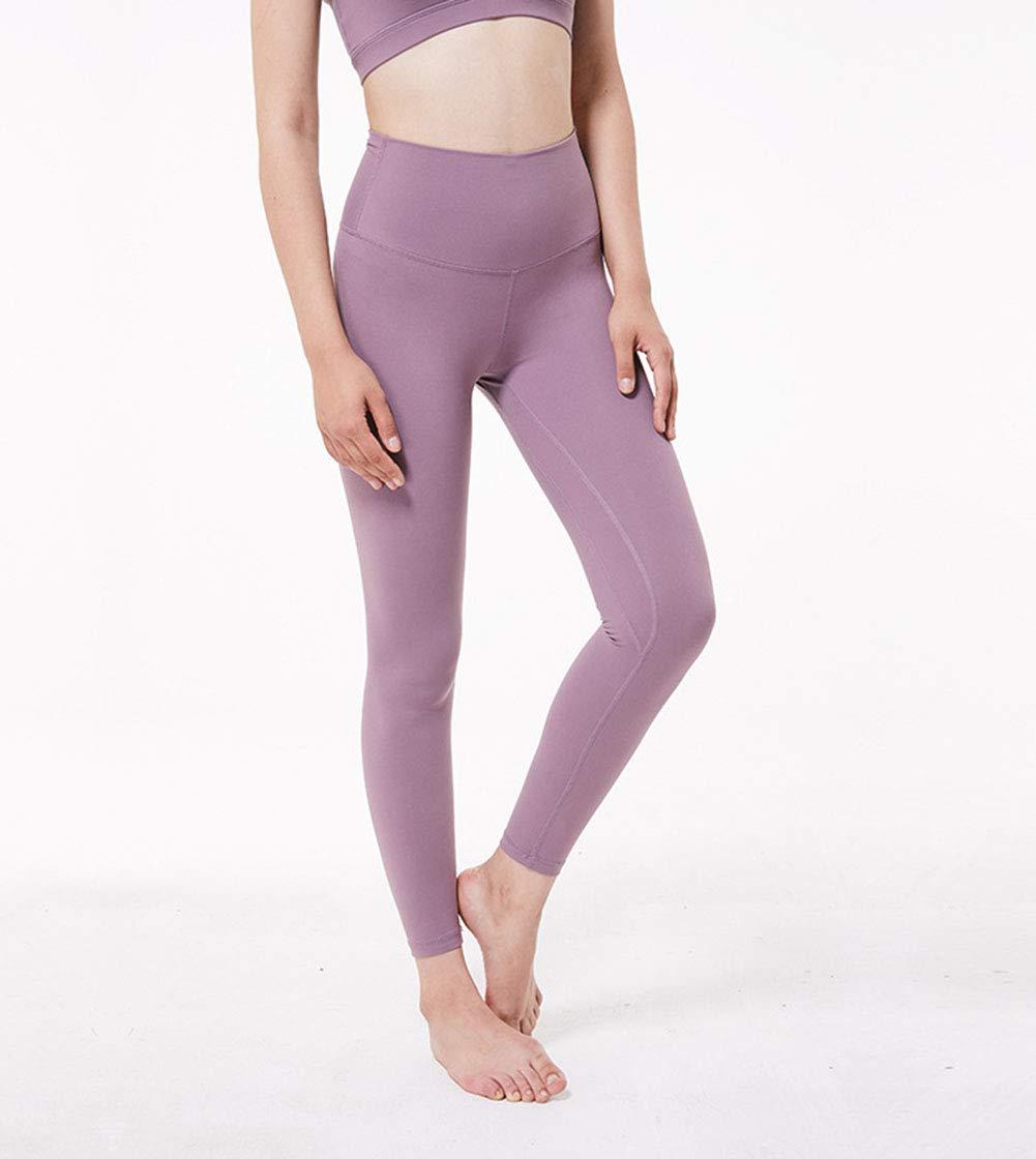 1917604106be8 Amazon.com: Imzoeyff Outdoor Sport Leggings Fitness Sports Tight Yoga Pants  Ladies Hips High Waist Elastic Thin Skinny Feet Nine Pants Slim Tight  Leggings: ...