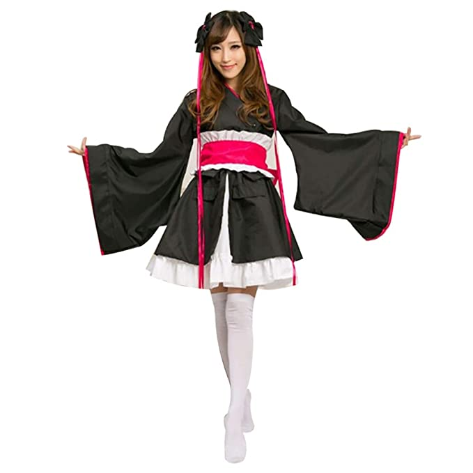 fagginakss Traje de Tradicional Japonesa Kimono Cosplay ...