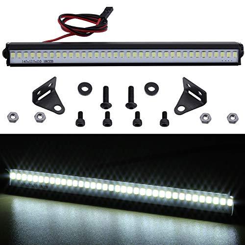 - Hobbypark Trx4 RC Car LED Light Bar Kit 36 LEDs for Traxxas TRX-4 Axial SCX10 90046 D90 RC Rock Crawler Truck Body Shell Roof Lights (Style 1)
