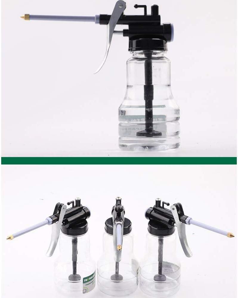 Grasso Gu-n olio pompa da 250 ml tubo trasparente in plastica ad alta pressione tubo olio mini pistola grasso tubo iniettore