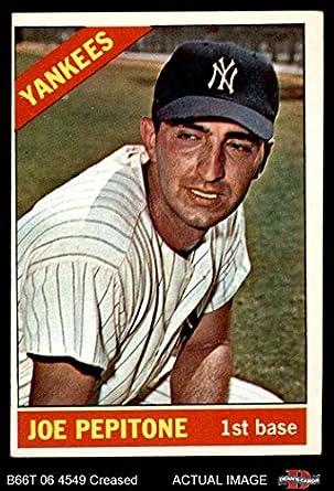 1969 Topps #589 Joe Pepitone New York Yankees Baseball Card