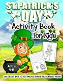 St. Patrick's Day Activity Book for Kids Ages