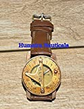 Humaira Natical Wirst Watch Sundial Compass Nice Gift Item