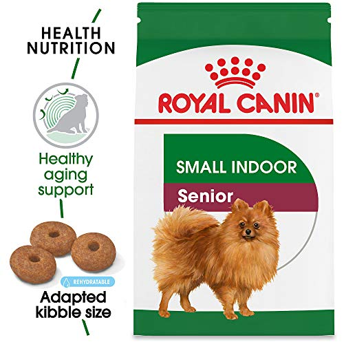 Royal Canin Size Health Nutrition Small Indoor Senior Dry Dog Food, 2.5-Pound (Best Food For Beagles)