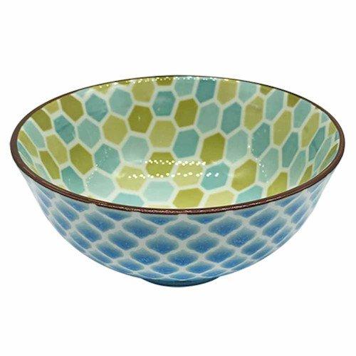 L'Hermitage CH1545-4.75-1645-HY004, Bowl Mix&Match em Porcelana, Multicor, 12.5 cm