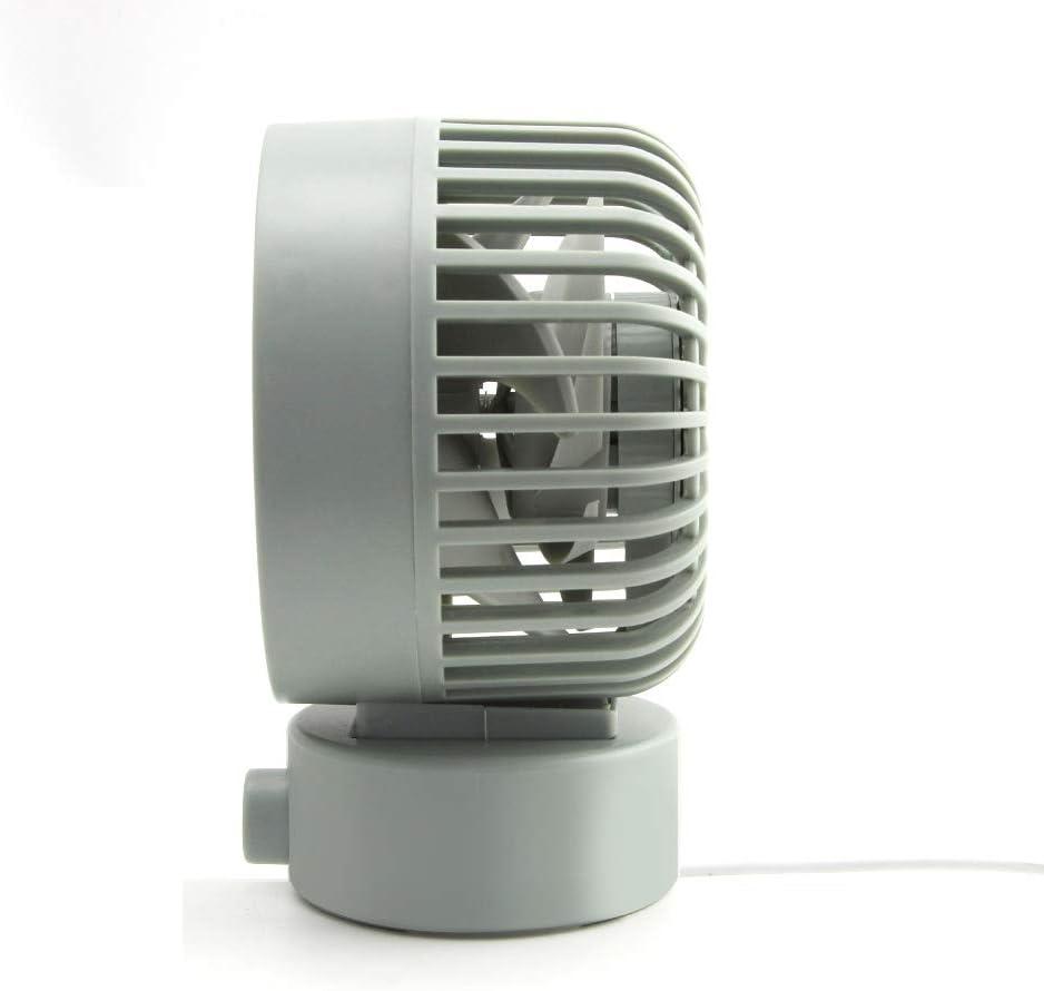 up and Down can Shake The Head Strong Wind Powerful Fan Light Blue Desktop Fan,SUN RAIN Mini Fan 4 inch Personal Portable Cooling Office Dormitory Desktop Power Outlet Fan