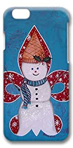 iPhone 6 Case, Custom Design Protective Covers for iPhone 6(4.7 inch) PC 3D Case - Snowman02