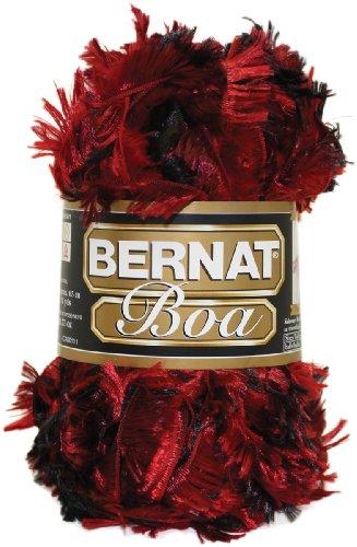 Bernat Boa Yarn, Cardinal, Single Ball