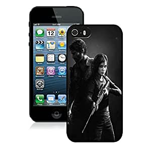 Game Case,Easy Use Case The Last Of Us Remastered Man Defender Joel Cover Case for iphone 5 5s 5th in black