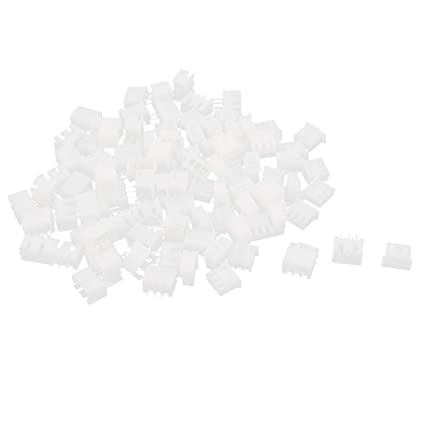 Audio & Video Accessories Housing 100pcs White XH2.54-2P Connectors 2.54mm Female Pin Header