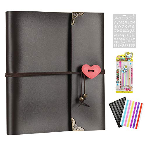 Birthday Refillable Photo Album With 30 Black Pages Wedding Personalised Memory Book Heart Scrapbook With Box Anniversary  Pukkr