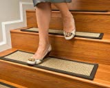 NaturalAreaRugs Tara Sisal Carpet Stair Treads 9'' x 29'' Set of 13