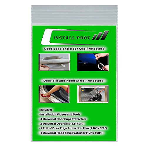 Lynx Hood - Install Proz Self-Healing Clear Paint Protection Film Kits (Bundle-Hood Strip, Door Edge, Door Cup, Door Sill)