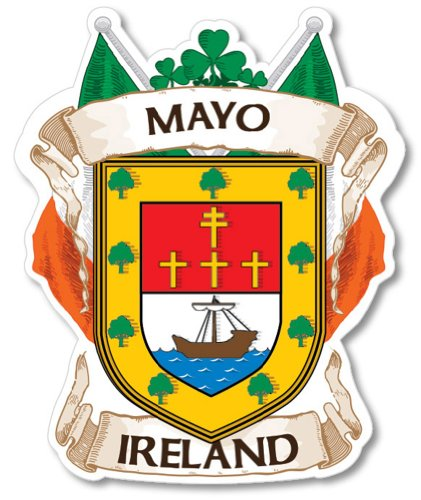 Mayo County Ireland Irish Car Bumper ()