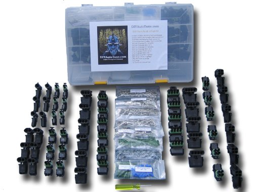 460 Piece Weather Pack Kit Delphi Weatherpack by (Weather Pack Connector)