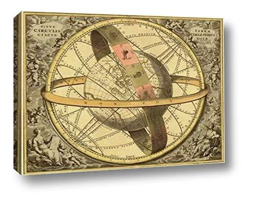 (Maps of The Heavens: Circulis Coelestibus by Andreas Cellarius - 17