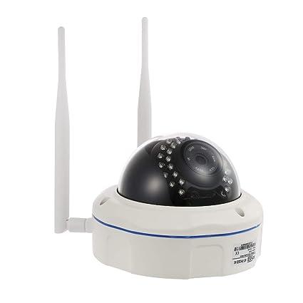 OWSOO Cámara IP Inalámbrico 1080P 4G IR-Cut Visión Nocturna 3G gsm Impermeable Cámara de Vigilancia CCTV Exterior con Tarjeta TF 32GB & Ranura para ...