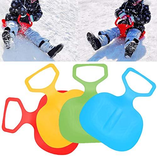 CHoppyWAVE Skiing Sled Board - 1Pc Ski Board Snowboard Snow Ski Luge Children Toy Winter Outdoor Sport Snow Ski Toy for Kids Children Frosted