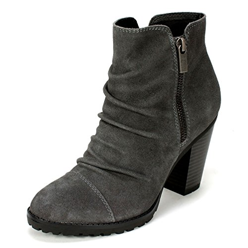 MOUNTAIN Women's Bootie 'TAFT' WHITE Charcoal BxqCCYR