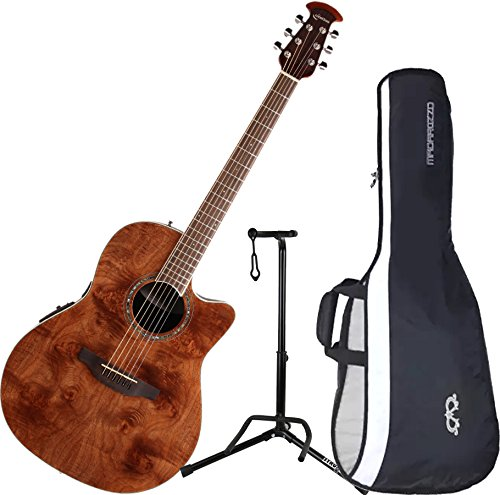 Ovation CS24P-NBM Celebrity Plus Mid-Depth Nutmeg Burled