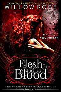 Flesh And Blood by Willow Rose ebook deal