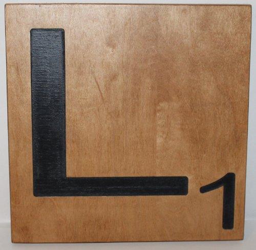 Scrabble Letter Tile Big Large Natural 10