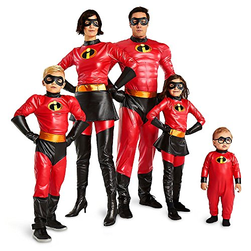 347c305a970 Amazon.com  Disney Jack-Jack Costume for Baby - Incredibles 2 Red  Clothing