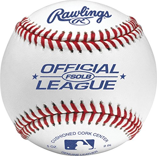 (Rawlings Flat Seam Official League Baseballs, 12 Count, FSOLB)