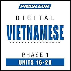 Vietnamese Phase 1, Unit 16-20