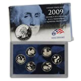 2009 S Clad Proof U.S. Territory Quarter Set OGP in box Proof
