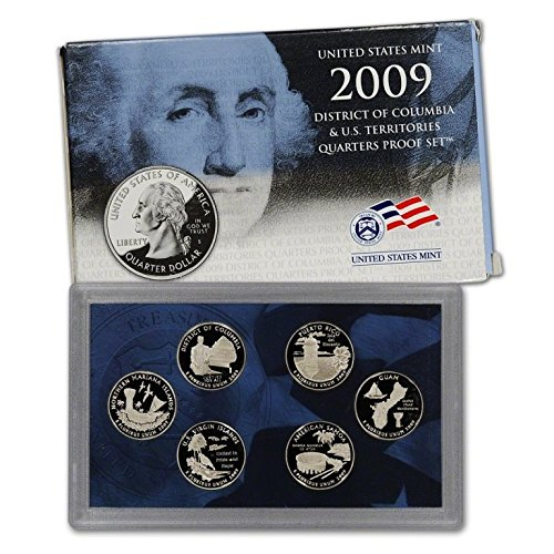 2009-S US Mint Proof Territory Quarter 6-coin with box/COA ()