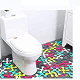 Nesee Non Slip Bathtub Stickers,Adhesive Decals with Bright Colors,Ideal Large Appliques for Your Family's Safety,Suit for Bath Tub,Stairs,Shower Room & Other Slippery Surfaces.