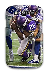 New Fashionable ZippyDoritEduard ATdvXCx1002oBJFG Cover Case Specially Made For Galaxy S3(adrian Peterson Football )