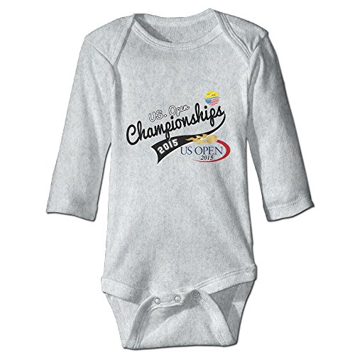Kids Baby 2015 US.OPEN Championships Long-sleeve Romper Jumpsuit Ash