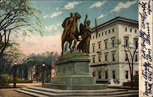 - The Sherman Monument New York, New York Original Vintage Postcard