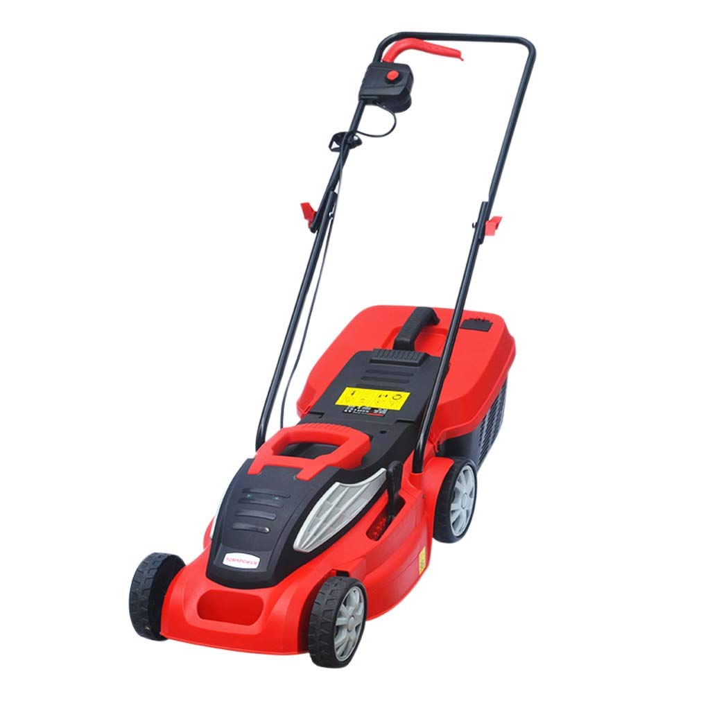 WHJ@ Weeding Artifact Hand Push Automatic Mower Electric Small Household Multi-Function Lawn Mower Lawn Trimmer by ZM-Lawn mower