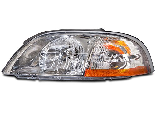 Ford Windstar Headlight Assembly - Headlights Depot Ford Windstar Headlight OE Style Replacement Headlamp Driver Side New