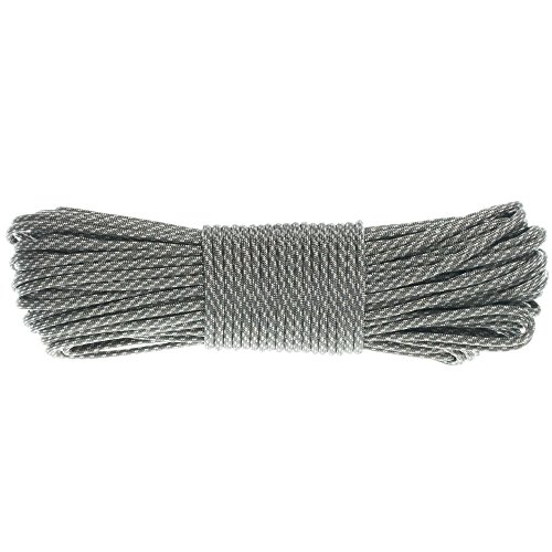 GOLBERG G Paracord Rope 550 Type III Paracord - Parachute Cord - 550 Cord - 550lb Tensile Strength - 100% Nylon - Made In The USA