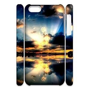 ALICASE Design Diy hard Case Sunset For Iphone 4/4s [Pattern-6]