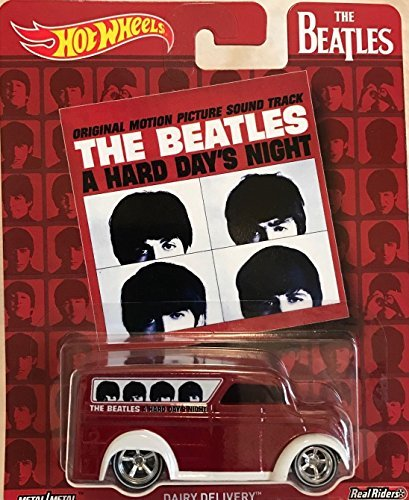 Hot Wheels Pop Culture The Beatles A Hard Day's Night, Dairy Delivery, Premium Adult Collectible Diecast Car
